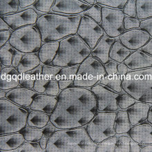 Fashion Stone Pattern Decoration Furniture Leather (QDL-51384)